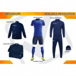 Mini Box Revolution albastru/bleumarin