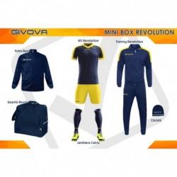 Mini Box Revolution bleumari/galben