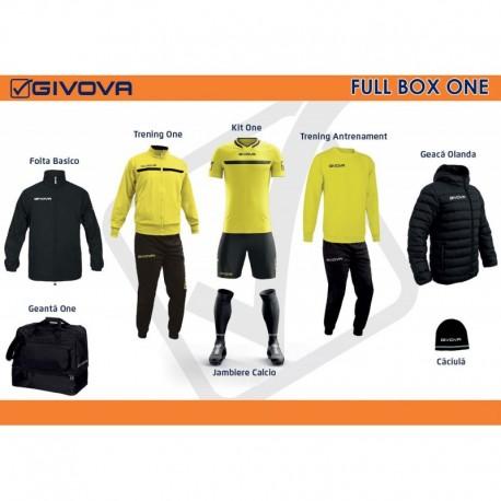Full Box Givova  One galben/negru