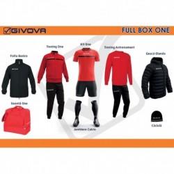 Full Box Givova One rosu/negru