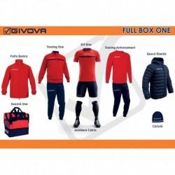 Full Box Givova One rosu/bleumarin