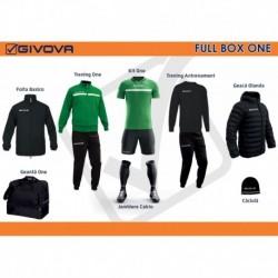 Full Box Givova One verde/negru