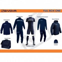 Full Box Givova One bleumarin/alb