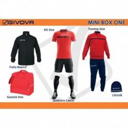 Mini Box Givova One rosu/negru