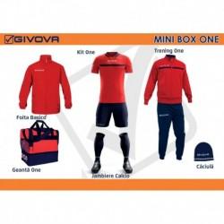 Mini Box Givova One rosu/albastru