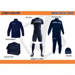 Mini Box Givova One bleumarin/alb